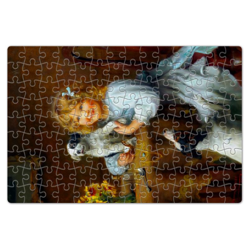 Пазл магнитный 18 x 27 (126 элементов) Printio Картина артура элсли (1860-1952) maisto 1952 citroen 15cv 6 cyl 1 18 scale car model alloy toys diecasts