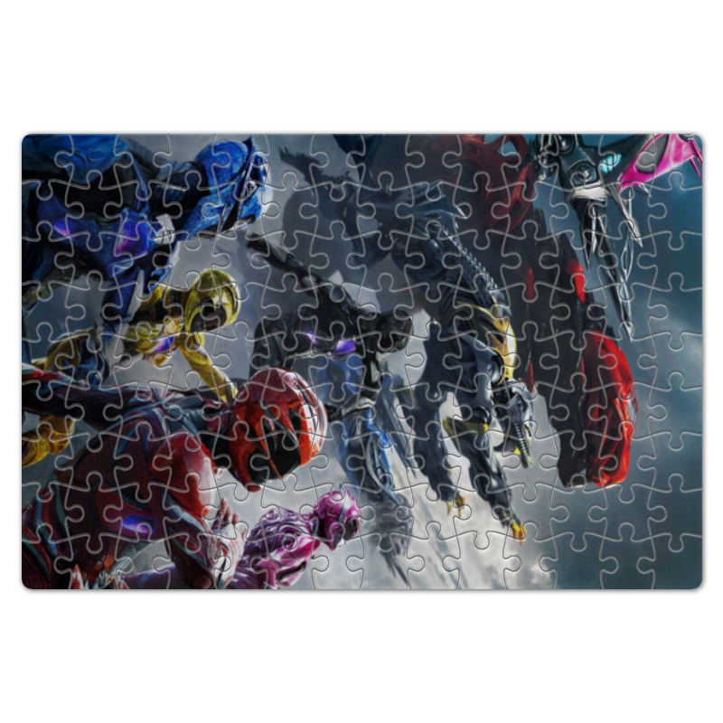 Пазл магнитный 18 x 27 (126 элементов) Printio Power rangers 200pcs bd139 to 126 npn power transistors