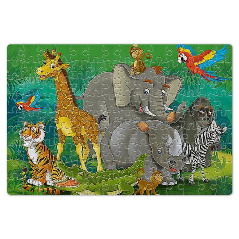 Пазл магнитный 18 x 27 (126 элементов) Printio Животные 126 700