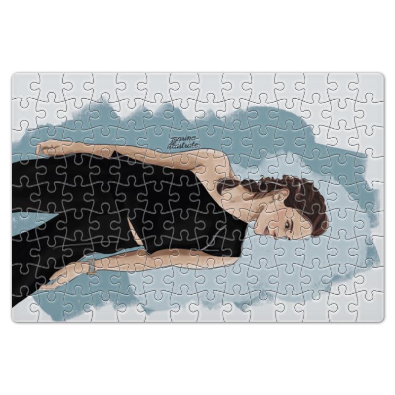 Пазл магнитный 18 x 27 (126 элементов) Printio Emma watson dress emma monti платья и сарафаны приталенные