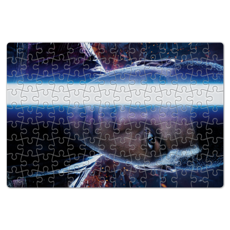 Пазл магнитный 18 x 27 (126 элементов) Printio Звездные войны - финн пазл магнитный 18 x 27 126 элементов printio звездные войны финн