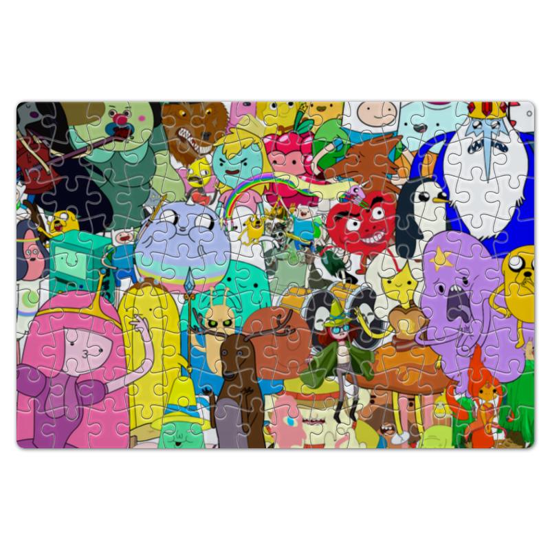 Пазл магнитный 18 x 27 (126 элементов) Printio Adventure time пазл магнитный 18 x 27 126 элементов printio герои мультфильма рататуй