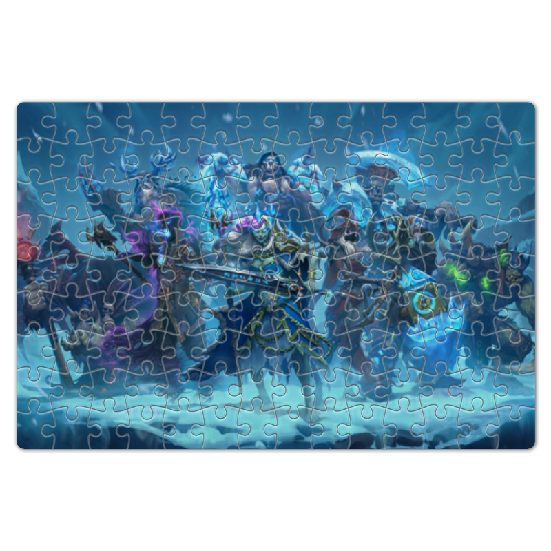 Пазл магнитный 18 x 27 (126 элементов) Printio Knights of the frozen throne чехол для iphone 6 глянцевый printio knights of the frozen throne