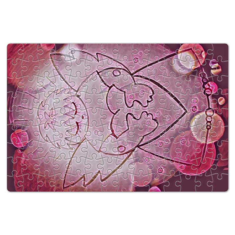 Пазл магнитный 18 x 27 (126 элементов) Printio Сердечный ангел открытка printio маленький сердечный ангел