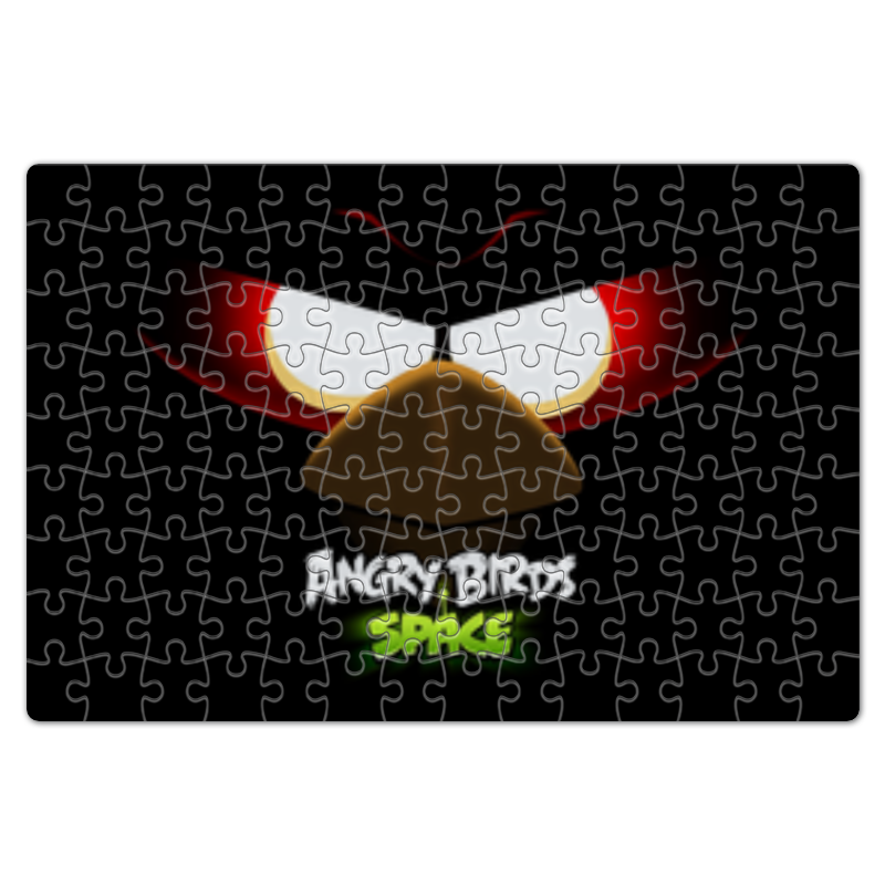 Пазл магнитный 18 x 27 (126 элементов) Printio Space (angry birds)