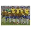 """Пазл магнитный 18 x 27 (126 элементов) """"Сборная Бразилии"""" - футбол, сборная, brazil, fifa, football, бразилия, сборная бразилии, неймар, world cup 2014"""