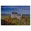 """Пазл магнитный 18 x 27 (126 элементов) """"Замок Нойшванштайн"""" - германия, замок, нойшванштайн"""