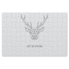 """Пазл магнитный 18 x 27 (126 элементов) """"Dear Deer"""" - рисунок, дизайн, олень, минимализм, рога"""