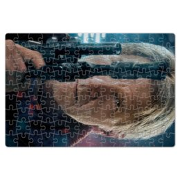 """Пазл магнитный 18 x 27 (126 элементов) """"Звездные войны - Хан Соло"""" - кино, фантастика, star wars, звездные войны, дарт вейдер"""