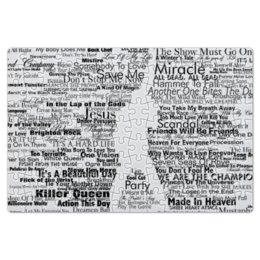 """Пазл магнитный 18 x 27 (126 элементов) """"Queen"""" - rock, music, музыка, queen, день рождения"""