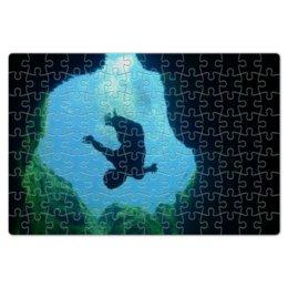 """Пазл магнитный 18 x 27 (126 элементов) """"""""Колодец Иакова"""""""" - природа, вода, колодец, красоты, иакова"""