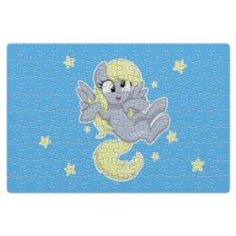 """Пазл магнитный 18 x 27 (126 элементов) """"My little pony (Derpy)"""" - мультфильм, mlp, derpy, для детей, мой маленький пони"""