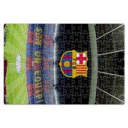 "Пазл магнитный 18 x 27 (126 элементов) ""Барселона"" - футбол, barcelona, messi, месси, испания"