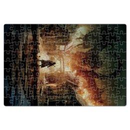 """Пазл магнитный 18 x 27 (126 элементов) """"Хоббит"""" - дракон, кино, властелин колец, hobbit, фродо"""