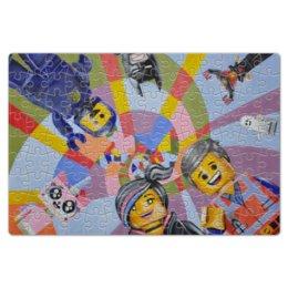 "Пазл магнитный 18 x 27 (126 элементов) ""Lego hero"" - пазлы, lego"