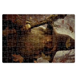 """Пазл магнитный 18 x 27 (126 элементов) """"Гэндальф"""" - кино, властелин колец, хоббит, hobbit, фродо"""