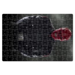 """Пазл магнитный 18 x 27 (126 элементов) """"Красный череп"""" - комиксы, marvel, марвел, капитан америка, гидра"""
