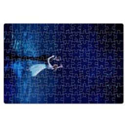 "Пазл магнитный 18 x 27 (126 элементов) ""Ла Ла Ленд"" - мечта, оскар, эмма стоун, райан гослинг, la la land"