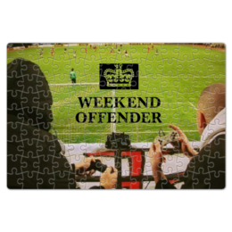 """Пазл магнитный 18 x 27 (126 элементов) """"weekend offender """""""