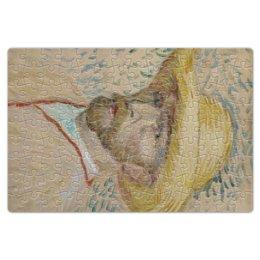 """Пазл магнитный 18 x 27 (126 элементов) """"Винсент ван Гог (автопортрет)"""" - картина, ван гог, живопись, гетерохромия"""