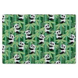 """Пазл магнитный 18 x 27 (126 элементов) """"Жизнь панд"""" - узор, животные, панда, лес, бамбук"""