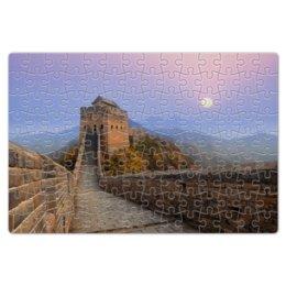"""Пазл магнитный 18 x 27 (126 элементов) """"Великая Китайская стена"""" - китай, china, великая китайская стена"""