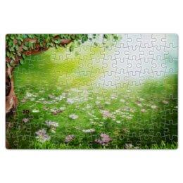 """Пазл магнитный 18 x 27 (126 элементов) """"Фантазия"""" - цветы, природа, дерево, фантазия"""