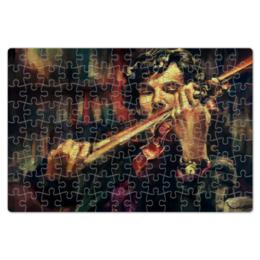 """Пазл магнитный 18 x 27 (126 элементов) """"Шерлок"""" - сериал, шерлок, камбербэтч, sherlok"""