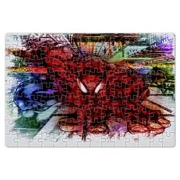 """Пазл магнитный 18 x 27 (126 элементов) """"Pop Art"""" - комиксы, человек паук, марвел"""