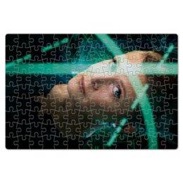 """Пазл магнитный 18 x 27 (126 элементов) """"Звездные войны - Лея"""" - звездные войны, фантастика, кино, дарт вейдер, star wars"""