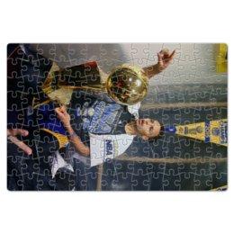"Пазл магнитный 18 x 27 (126 элементов) ""Stephen Curry"" - баскетбол, nba, нба, golden state warriors, стефен карри"