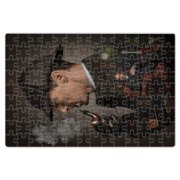 "Пазл магнитный 18 x 27 (126 элементов) ""Шерлок Холмс"" - sherlock, holms, benedict cumberbatch, john watson, martin freeman"