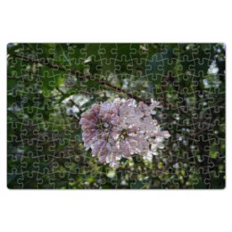 """Пазл магнитный 18 x 27 (126 элементов) """"Сирень"""" - лето, цветы, зелень, сирень, lilac"""