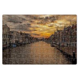 """Пазл магнитный 18 x 27 (126 элементов) """"Венеция"""" - италия, город, пейзаж, венеция"""