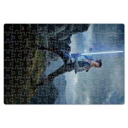 """Пазл магнитный 18 x 27 (126 элементов) """"Звездные войны - Рей"""" - звездные войны, фантастика, кино, дарт вейдер, star wars"""