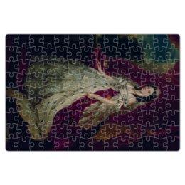 """Пазл магнитный 18 x 27 (126 элементов) """"Портрет германской императрицы Августы"""" - картина, портрет, живопись, винтерхальтер, пруссия"""