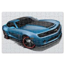 """Пазл магнитный 18 x 27 (126 элементов) """"Chevrolet Camaro/ Шевроле Камаро"""" - автомобиль, chevrolet, camaro, шевроле, камаро"""