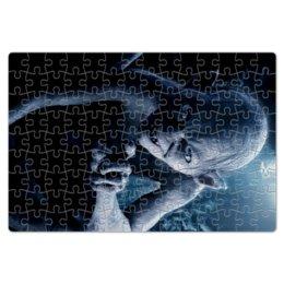 """Пазл магнитный 18 x 27 (126 элементов) """"Голлум"""" - кино, властелин колец, хоббит, прелесть, фродо"""