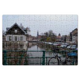 """Пазл магнитный 18 x 27 (126 элементов) """"Старая Европа"""" - европа, город, пейзаж, франция, путешествия"""