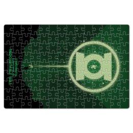 """Пазл магнитный 18 x 27 (126 элементов) """"Green Lantern/Зеленый Фонарь """" - комиксы, green, lantern, green lantern, dc comics"""