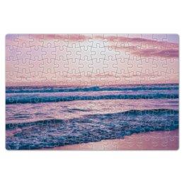 """Пазл магнитный 18 x 27 (126 элементов) """"Summer time!"""" - лето, море, закат, пазл, восход"""