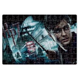 "Пазл магнитный 18 x 27 (126 элементов) ""Гарри Поттер"" - гарри поттер, хогвартс"