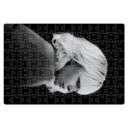"""Пазл магнитный 18 x 27 (126 элементов) """"Взрывная блондинка"""" - девушка, секс, girl, кино, шарлиз терон"""