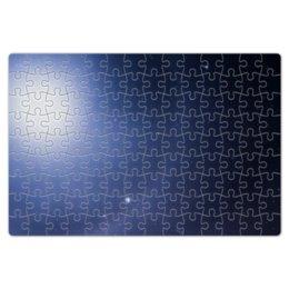 """Пазл магнитный 18 x 27 (126 элементов) """"Без названия"""" - космос, небо, луна, звёзды, галактика"""