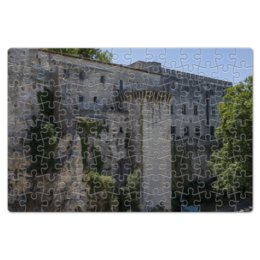 """Пазл магнитный 18 x 27 (126 элементов) """"Стена вокруг города Авиньон"""" - франция, история, путешествие, крепость, прованс"""
