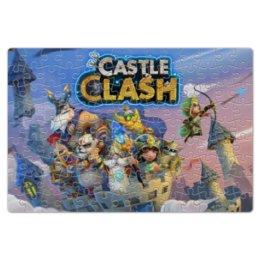 "Пазл магнитный 18 x 27 (126 элементов) ""Castle Clash"" - castle clash, битва замков"