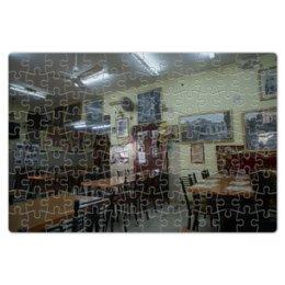 """Пазл магнитный 18 x 27 (126 элементов) """"Кафе Арабское"""" - кафе, география"""