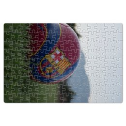 "Пазл магнитный 18 x 27 (126 элементов) ""Барселона"" - barcelona, messi, месси, испания, неймар"