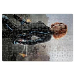 """Пазл магнитный 18 x 27 (126 элементов) """"Черная вдова"""" - комиксы, marvel, мстители, марвел, скарлетт йоханссон"""