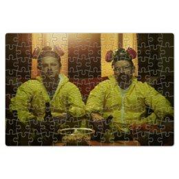 "Пазл магнитный 18 x 27 (126 элементов) """"Во все тяжкие"" (сериал)"" - bad, сериал, все, во, walter white, heisenberg, хайзенберг, breaking, тяжкие"